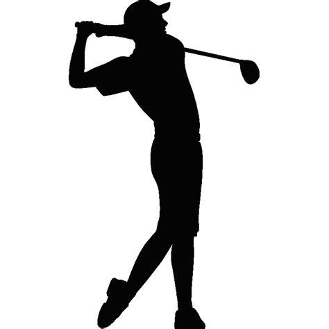 golf swing silhouette image gallery golf silhouette