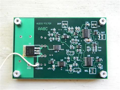 a switchedcapacitor audio filter