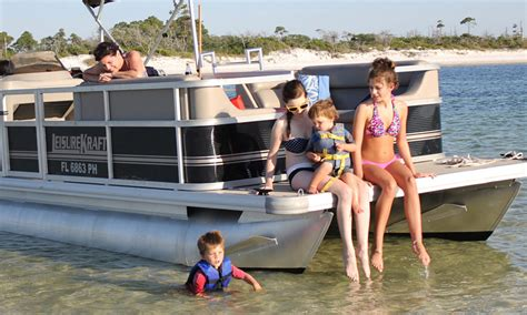 private boat rentals panama city beach pontoon boat rentals