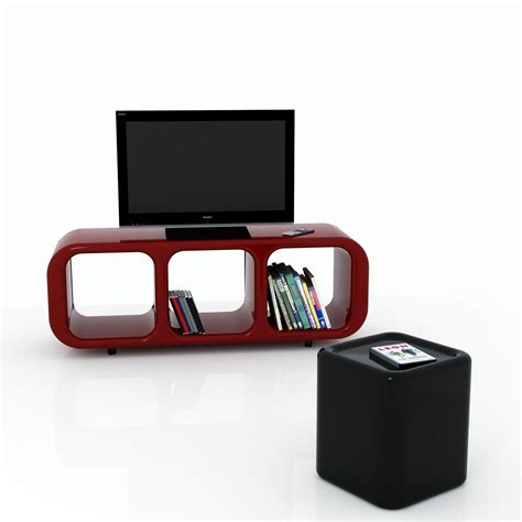 porta tv moderno design mobile porta tv eracle design moderno su ruote in resina