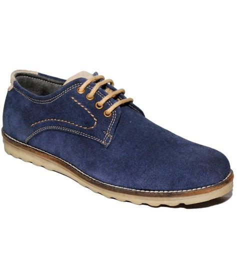 lakozy shoes navy nubuck leather casual shoes price in