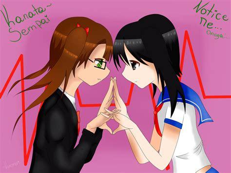 imagenes anime niñas lakshart nia x yandere chan by kuromorichan on deviantart