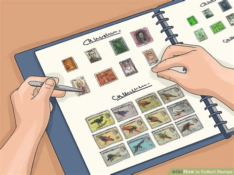 Self Adhesive by How To Collect Stamps With Pictures Wikihow