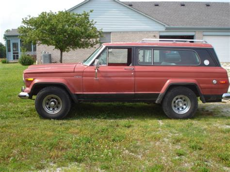 1977 jeep chief 1977 jeep chief s with factory 401 jeep