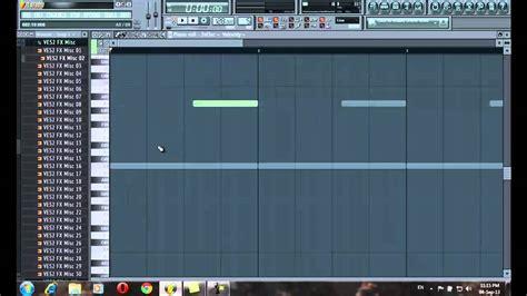 tutorial fl studio electro house fl studio 11 2013 tutorial how to make drop for