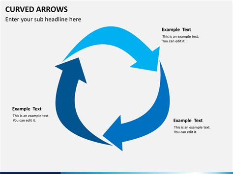 powerpoint curved arrows sketchbubble