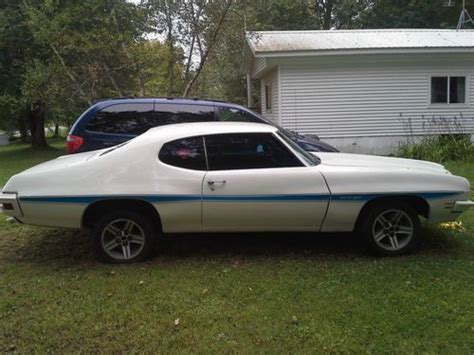 1971 pontiac gt37 sell used 1971 pontiac le mans gt 37 clone tempest in