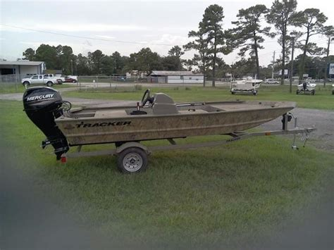 tracker boats grizzly tracker grizzly 1648 mvx sc boats for sale boats