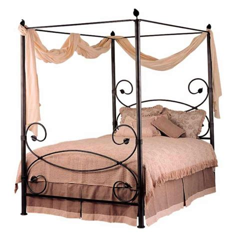 iron canopy bed iron beds wrought iron beds humble abode