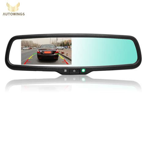 car backup מוצר 4 3 inch auto dimming car parking rearview mirror