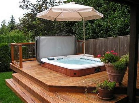 backyard deck designs with hot tub backyard hot tub design ideas pool design ideas