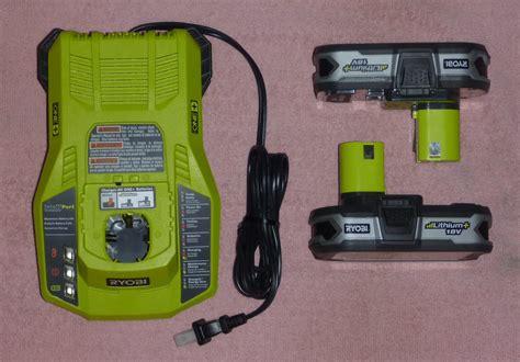 ryobi 18v battery charger manual two ryobi one p107 18v 2015 lithium batteries li ion