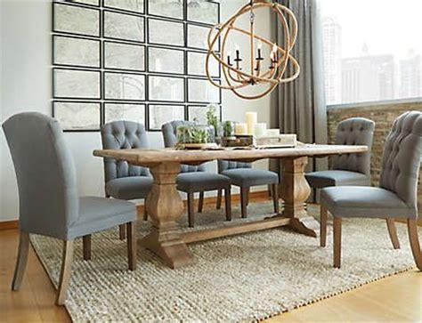 round table san rafael san rafael dining table art van furniture delish