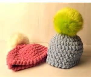knitting daily tv patterns baby hat with pompom as featured on knitting daily tv