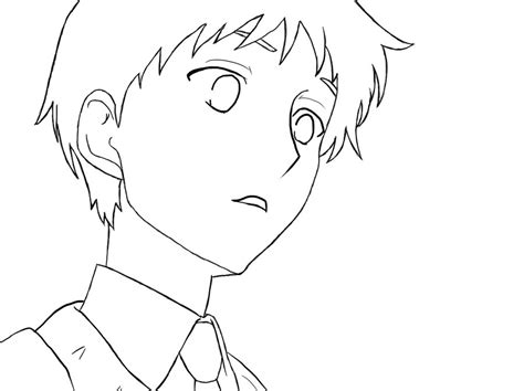 Coloring Male Anime Base Hoodie Coloring Pages Anime Boy Coloring Pages