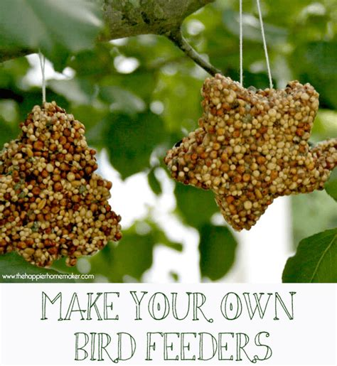 kid s crafts make your own birdfeeders the happier