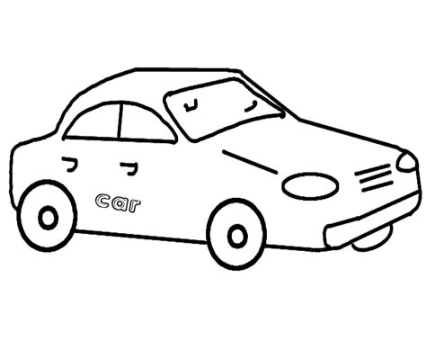 car coloring pages preschool car pages for preschool coloring pages
