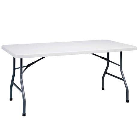 metro fr table de r 233 ception pliante 152 x 76 cm