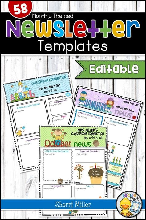 The 25 Best Ideas About Preschool Newsletter Templates On Pinterest Preschool Newsletter Monthly Classroom Newsletter Template