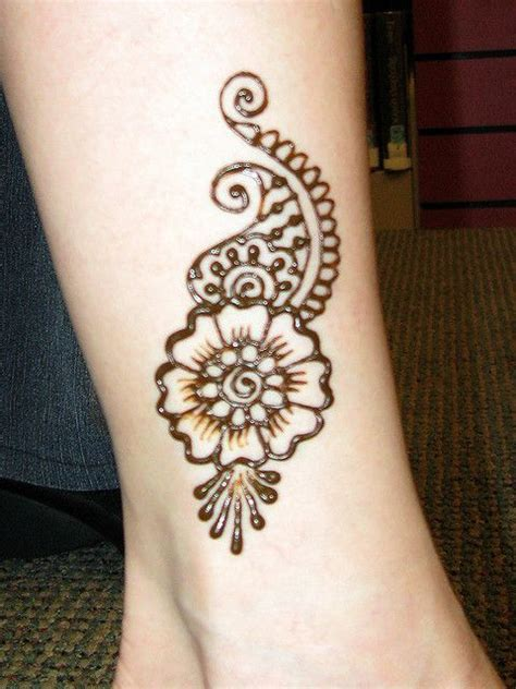 henna design ankle the gallery for gt easy henna designs for beginners ankle