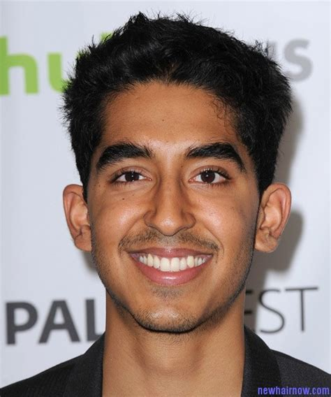 lovehart shaped hairstyles for men with big ears and gray hsir dev patel new hairstyle new hair now