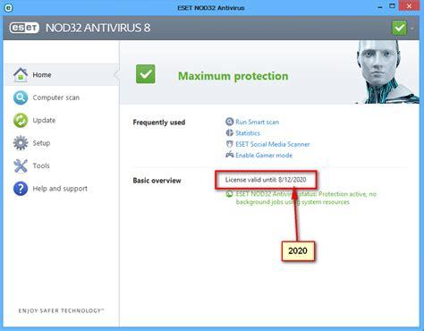 eset nod32 antivirus full version username and password eset nod32 antivirus 9 username and password update
