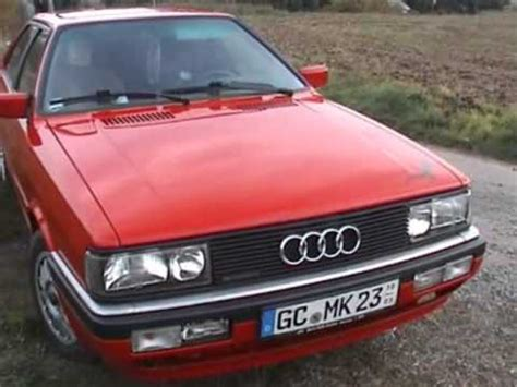 Audi Coupe Quattro Typ 85 by Audi Coupe Quattro Typ 85