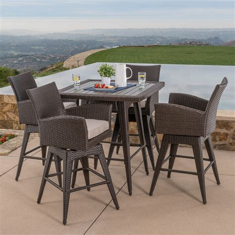 mission hills dining room set santa fe 5pc bar height dining collection mission hills furniture
