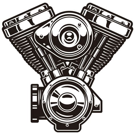 engine wall stickers wall stickers engine v harley davidson