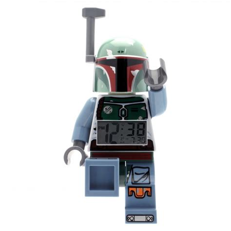 Lego Mini Figure Alarm Clock Boba Fett boba fett minifigure clock 5000249 boba fett fan club