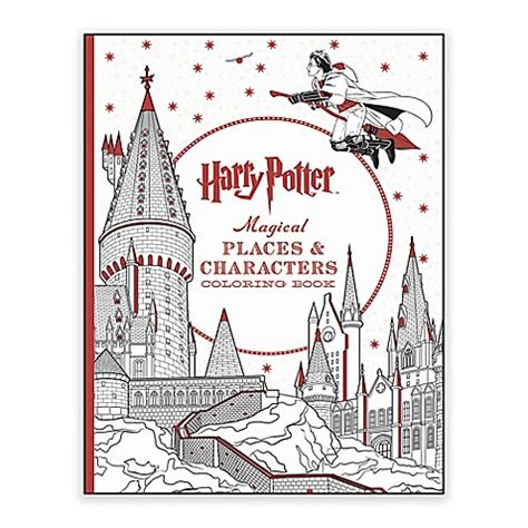 harry potter coloring book for sale scholastic harry potter magical places characters