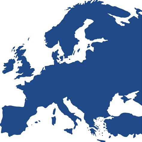 vector europe map europe clipart clipart suggest