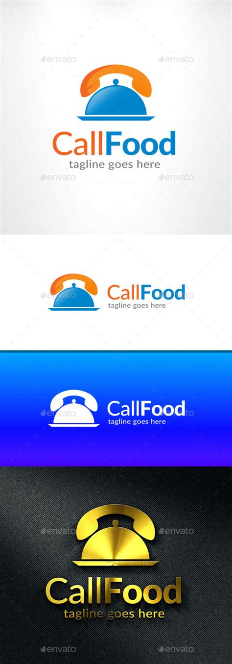 calling food best premium creative logo design templates part 8
