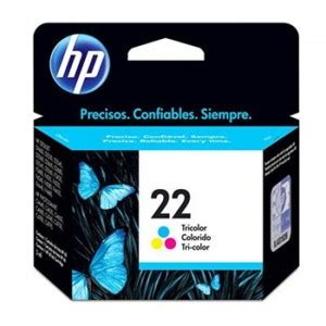 Hp Tinta Cartridge 22 Colour cuatro puntos