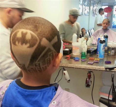 batman hair tattoo batman hair tattoo 123 barbershop colors cuts