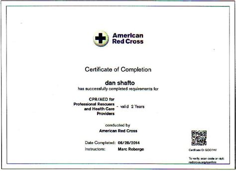 Resume Lookup by Cross Certifications Collection Birth