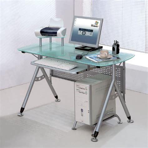Black Friday Computer Desk by Black Friday Modern Glass Steel Frame Computer Desk