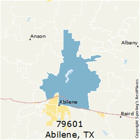 abilene texas zip code map best places to live in abilene zip 79601 texas