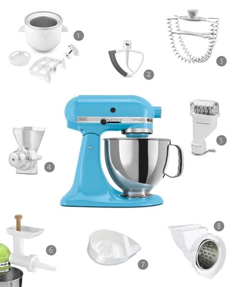 Kitchenaid Attachments And Accessories Get Whisked Away By These 8 Kitchenaid Accessories Scan