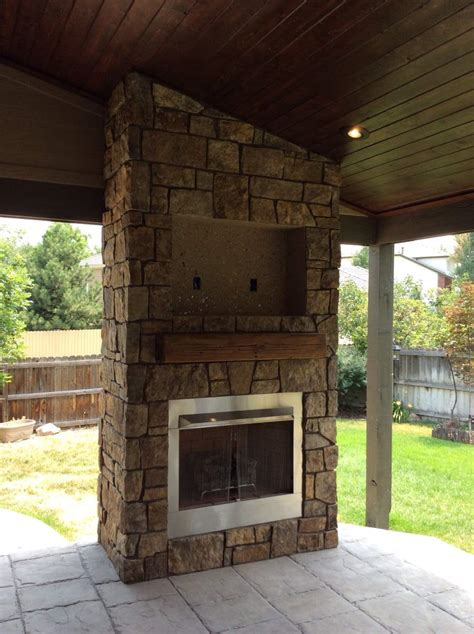 Outdoor Gas Fireplace In Superior Co Hi Tech Appliance Gas Fireplace Outdoor