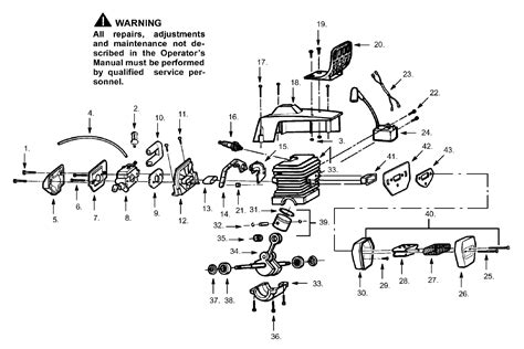 poulan chainsaw fuel line diagram poulan 2500 chainsaw fuel filter and in gas tank is