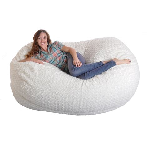Lovesac Sofa Reviews 6 Foot Soft White Fur Large Oval Microfiber Memory Foam
