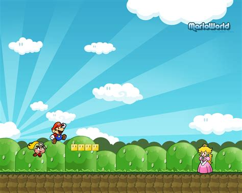 imagenes de mario bros retro wallpapers hd wallpapers juego super mario bros hd