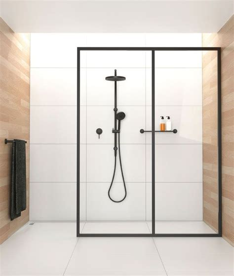 Fitting Shower Door 1000 Ideas About Shower Screen On Modern