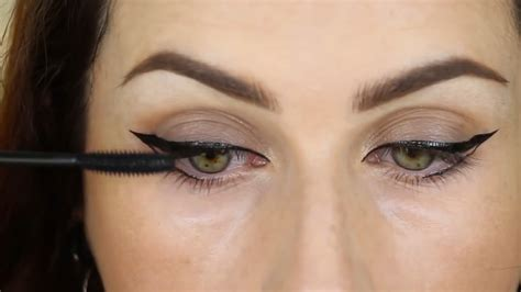 Eyeliner Make how to make cat with eyeliner with pictures wikihow