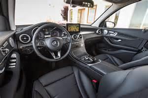 mercedes glk 2016 interior 2016 mercedes glc300 4matic test review
