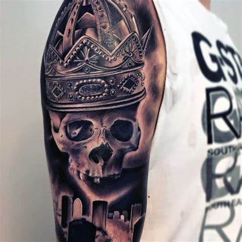 tattoos on upper arm for men top 50 best arm tattoos for bicep designs and ideas