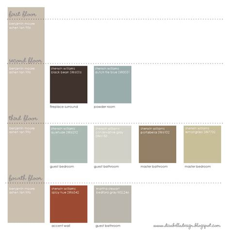 paint schemes disabella design choosing paint colors