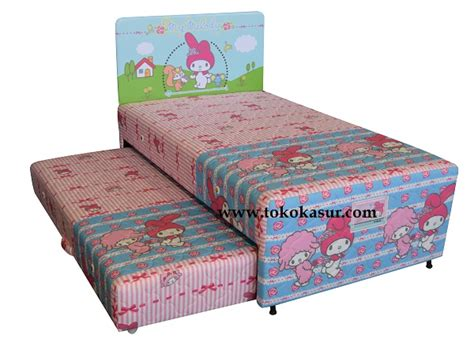 Kasur Bed Ukuran No 1 big 2in1 melody toko kasur bed murah simpati furniture