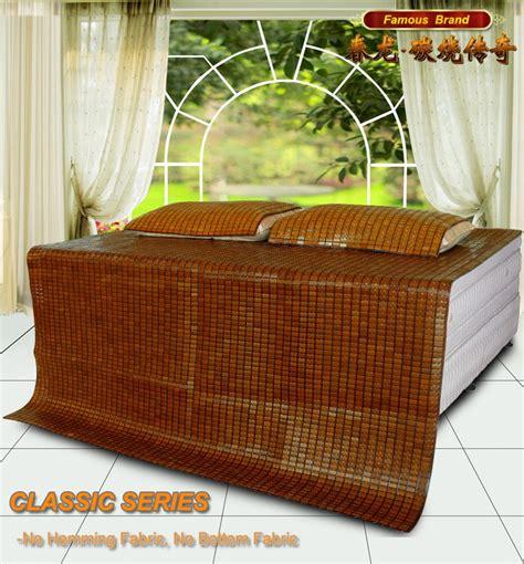 Bamboo Sleeping Mat by Cool Sleeping Bamboo Mat Bed Cover Sheet Bamboo Summer Mat